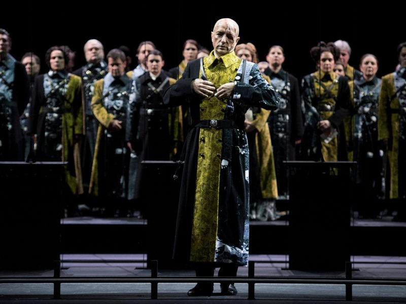 'Trompe-la-mort' at Opera National de Paris  Pictured: Guy Cassiers Photo by Kurt Van Der Elst